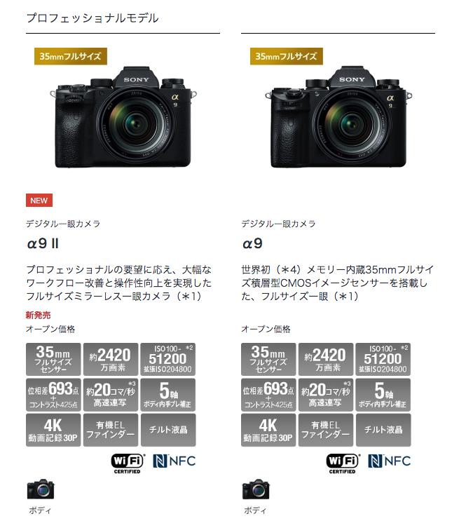 デジタルカメラミラーレス ソニー