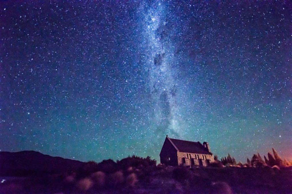 ニュージーランド テカポ湖 観光