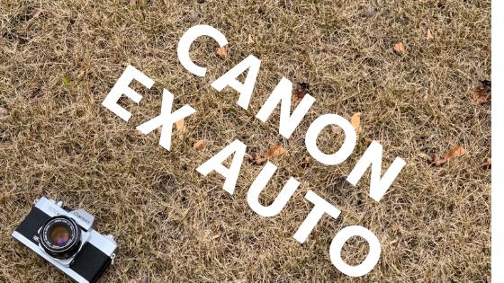 CANON EXAUTO フィルムカメラ