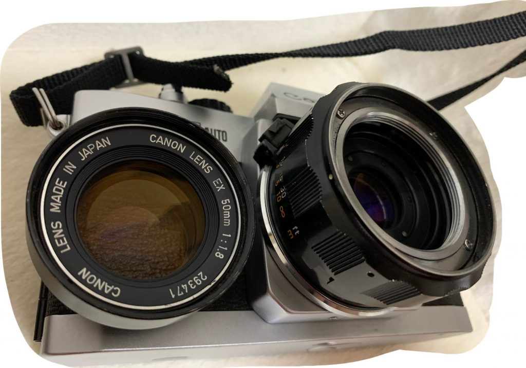 EX AUTO レンズ交換