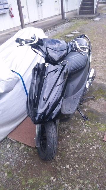 バイク スズキ アドレスV125G
